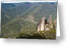Mt Gilbrator Np - The Pinnicals Greeting Card