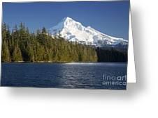 Mt Hood And Lost Lake Greeting Card