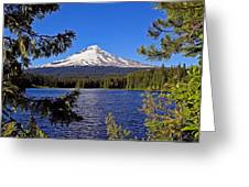 Trillium Lake II Greeting Card