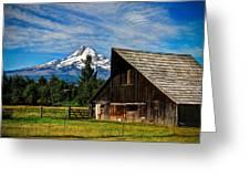 Mt Hood Oregon Greeting Card