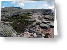 Mt Katahdin Appalachian Trail Greeting Card