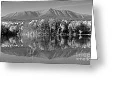 Mt Katahdin Baxter State Park Fall Greeting Card