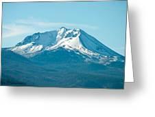 Mt Lassen  Greeting Card