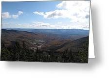 Mt Mansfield Looking East Greeting Card