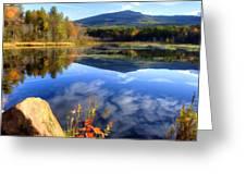 Mt. Monadnock Reflection Greeting Card