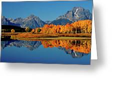 Mt. Moran Reflection Greeting Card