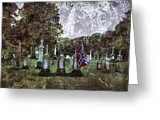 Mt Olivet Rebel Greeting Card
