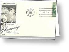 Mt Rushmore Twenty-fifth Anniversary Postcard Greeting Card