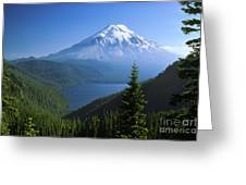 Mt. Saint Helens Greeting Card