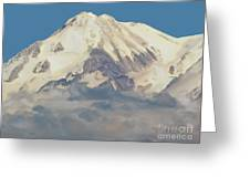 Mt. Shasta Summit Greeting Card