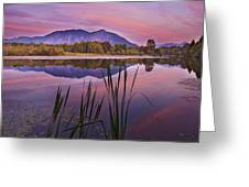 Mt. Si Colors Greeting Card