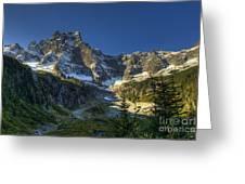 Mt Slesse Greeting Card