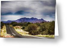 Mt Sonder Central Australia V2 Greeting Card