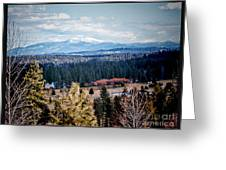 Mt. Spokane Greeting Card