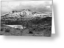 Mt. St. Helen's 2 Greeting Card