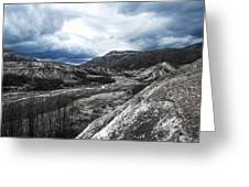 Mt. St. Helen's National Park 3 Greeting Card
