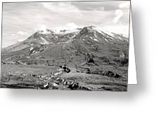 Mt St Helen's Greeting Card