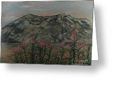 Mt St.helen Greeting Card