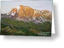 Mt. Tekarra Greeting Card