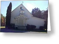 Mt. Zion Baptist Church Greeting Card