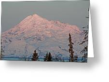 Mt.redoubt Greeting Card