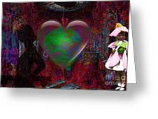 Mucha Love  Greeting Card
