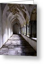 Muckross Abby Cloister Killarney  Ireland Greeting Card