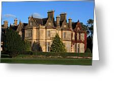 Muckross House, Killarney National Park Greeting Card