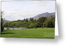 Muckross Lake And Garden Greeting Card