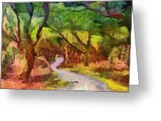 Muckross Woods Greeting Card
