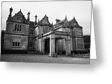 Mucross House Near Muckross Abbey Killarney County Kerry Ireland Greeting Card