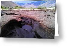 Mud Canyon Greeting Card