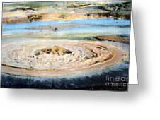 Mud Geyser Yellowstone Np 1928 Greeting Card