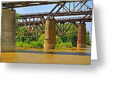 Muddy Mississippi Greeting Card