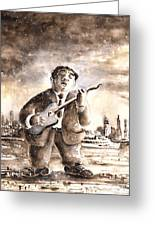 Muddy Waters In Chicago Greeting Card