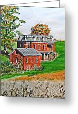 Mudhouse Mansion Greeting Card