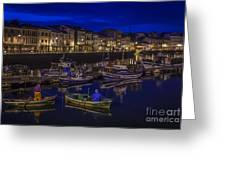 Mugardos Port Galicia Spain Greeting Card