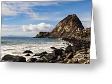 Mugu Rock Greeting Card