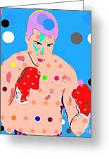Muhammad Ali Greeting Card by Ricky Sencion