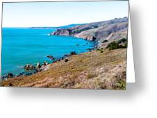 Muir Beach Lookout North View Greeting Card