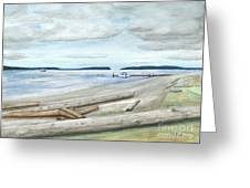 Mukilteo Beach Greeting Card