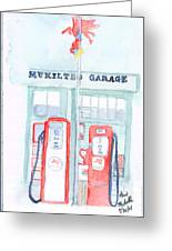 Mukilteo Garage Greeting Card