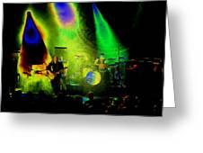 Mule #7 Enhanced Image In Cosmicolor Greeting Card