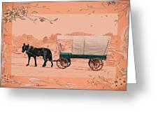 Mule Days - Westmoreland Tn  9-28-13  2 Greeting Card