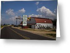 Mule Trading Post Greeting Card