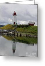 Mulholland Point Lighthouse - New Brunswick Greeting Card