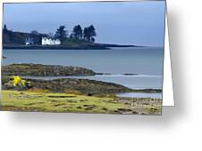 Mull In The Evening Greeting Card