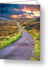 Mull Of Kintyre Greeting Card