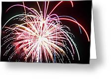 4th Of July Fireworks 8 Greeting Card