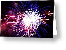 4th Of July Fireworks 15  Greeting Card